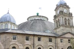 The ceremony will be held at the Devonshire Dome in Buxton.