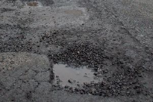 Pot holes are one of the biggest issues on our roads.