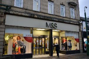 The Marks and Spencer store in Spring Gardens, Buxton.