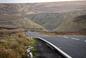 9 Jan 2015...Snake Pass in the High Peak (for archive). Picture Scott Merrylees