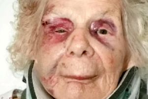 Zofija Kaczan was attacked from behind and knocked to the ground as she made her way to church