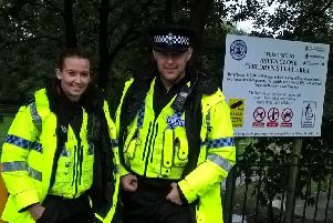 In Market Weighton, police officers will be operating high visibility patrols around the town centre and peripheral areas.