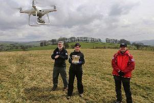 Buxton Mountain Rescue Team has become the first in England and Wales to be cleared for the use of drones.