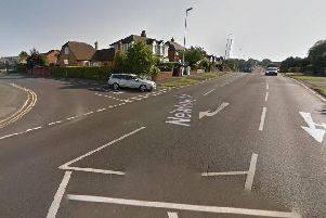 A 63-year-old man, from Blackpool, suffered significant facial injuries after a collision in Newton Drive on Thursday, February 21.
