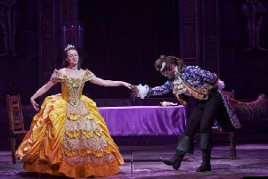 Beauty and the Beast pantomime at The Grand