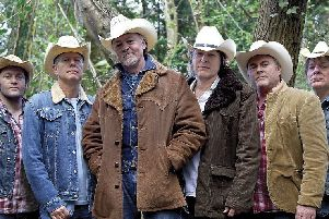 Los Pacaminos play at The Flowerpot, Derby, on Friday, March 8, 2019.