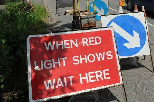 Two-way temporary traffic lights will be on Ackworth Road from tomorrow morning.