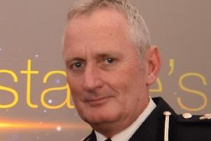 Peter Goodman, Derbyshire Constabulary's top cop.