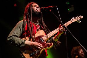 The Wailers performing at the O2 Academy in Newcastle. Pic: Mick Burgess.
