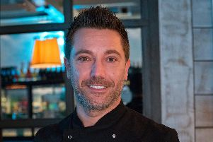 Gino DAcampo visited Harrogate to host an evening at his restaurant that was attended by more than 150 guests.