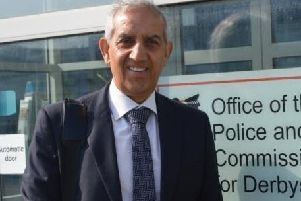 Hardyal Dhindsa, Derbyshire's Police and Crime Commissioner.
