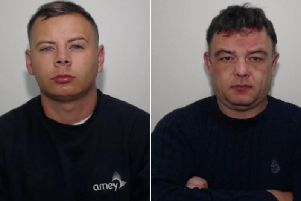 Dean Jones, 28, of Montrose Street, Rochdale and Alan OHara, 40, of Barkisland, Halifax, have been jailed