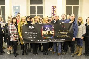 The cast of A Night at the Musicals, to be performed at The Mechanics by Burnley Light Opera Society. (s)