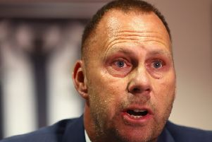 Notts County owner and chairman, Alan Hardy, has accepted an offer for the club.  (Photo by Matthew Lewis/Getty Images)