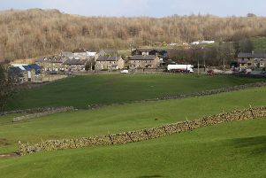 The development site at Burbage