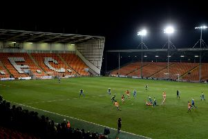 Blackpool could be deduced 12 points today. (Photo by Gareth Copley/Getty Images)