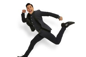 Russell Kane performs at Buxton Opera House on April 26.