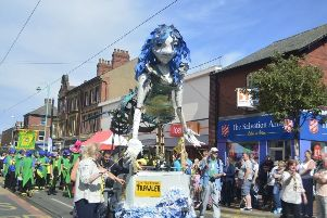 Tram Sunday, including the colourful SpareParts parade, is a major boost to the Fleetwood economy, say organisers.