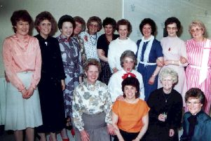 Margery Sherwood with Marks and Spencer colleagues