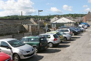 Market Street car park and the former council depot, one of the sites being earmarked for major housing developments in Buxton