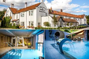 """The """"Tiny Spa"""" experience at Ye Old Bell Hotel Spa near Retford."""