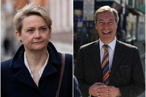 Yvette Cooper MP has called on her constituents to support a workable Brexit deal after Brexit Party leader Nigel Farage accused her of betraying her constituents.
