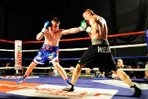 CALLED OFF: George Rhodes frustration continued after his fight this week was cancelled
