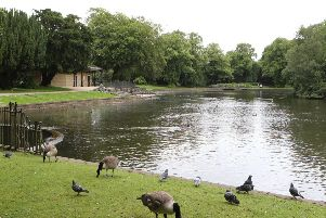 The Pavilion Gardens boating lake is to see a return of boats.