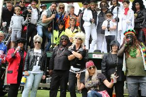 This fancy dress has led to Bakewell Carnival organisers banning blackface at future events.