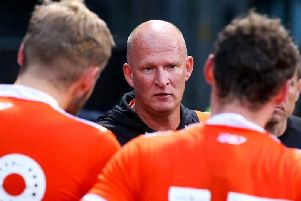 Simon Grayson was satisfied with his first week as Blackpool boss in Scotland'Picture: BLACKPOOL FC