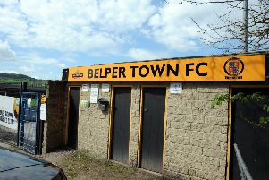 Belper Town FC ground, on Bridge Street, Belper.