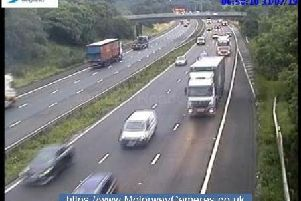 Junction 16 of the M6.