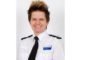 Derbyshire Polcie's Deputy Chief Constable Rachel Swann has faced criticism over her spikey hairstyle.