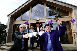 The cafe at Pontefract Castle has been revamped and reopened at part of ongoing regeneration of historic site.