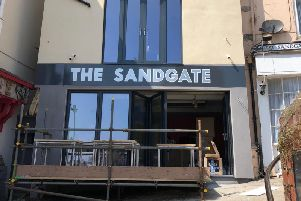 The Sandgate prior to opening. PIC: Carl Gavaghan.