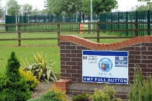 Prisoners at Full Sutton received 10% less additional days than the previous year ' 875 were imposed in 2017-18.