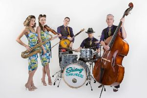 The Swing Commanders. Photo by Belle Prive Photography.