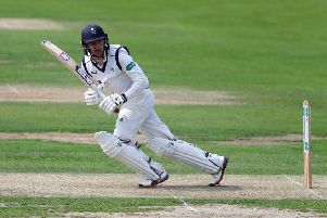 Yorkshire's Jonathan Tattersall, finished as top scorer with 41 in the hosts' second innings. Picture: Richard Sellers/SWpix.com