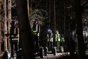 You can now tour Sherwood Pines at night - on a Segway