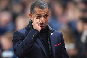 Nottingham Forest head coach Sabri Lamouchi. (Photo by Nathan Stirk/Getty Images)