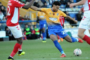 Jordan Graham in Stags first team action