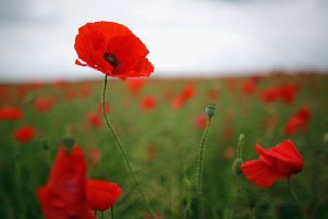 Queen Elizabeth's Academy in Mansfield was holding a remembrance service today.