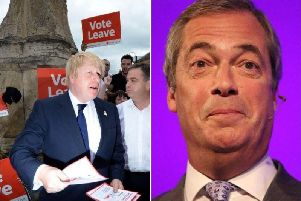 Should Boris Johnson and Nigel Farage form an electoral pact?
