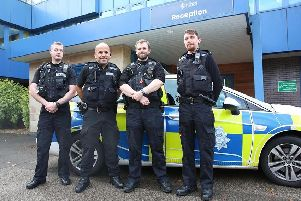 Officers praised after rescuing drunk man from Sutton drainage ditch