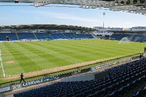 The Proact Stadium, home of Chesterfield FC.