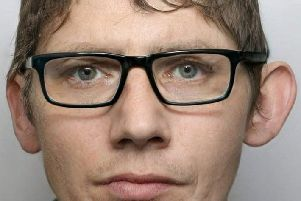 David Springthorpe, 30, of Alfreton, tried to avoid being caught by police by wearing a pair of glasses.