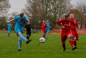 Match action as Bingham knock out Clipstone.