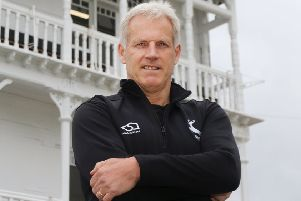 Head coach Peter Moores, who says Notts have had highs and lows this season but prefers to take the last 18 months as a whole package.