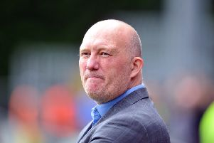Alfreton Town manager Billy Heath slammed his side's woeful defending. Picture Tony Johnson.