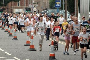 2003: Runners take to the streets of Mansfield for a fun run. Do you recognise anyone?